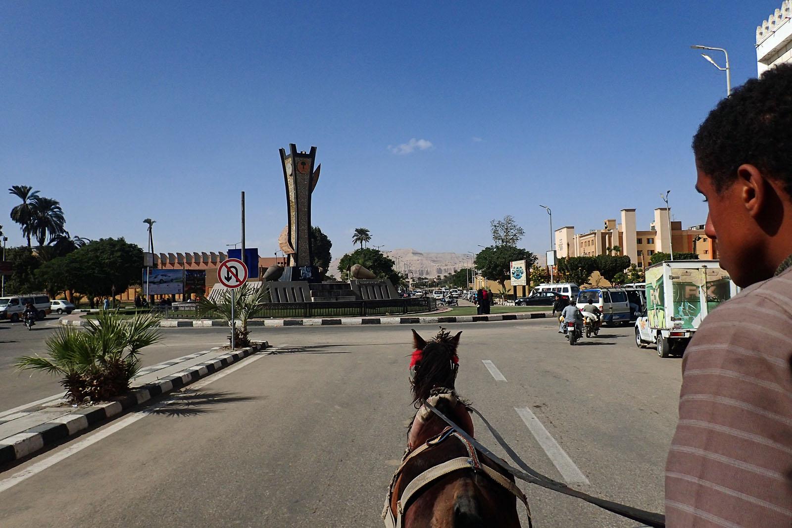 Luxor Kutschenfahrt