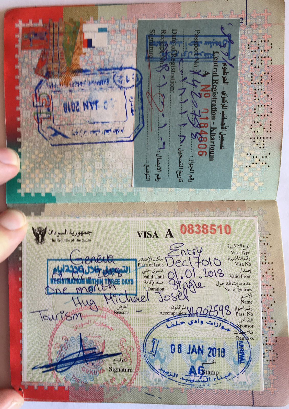 Visa Sudan