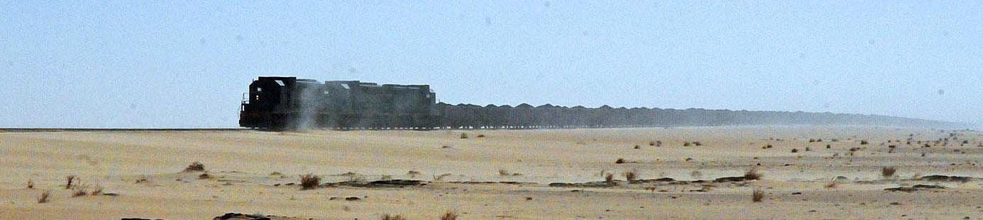 Train Mineralier Mauretanie