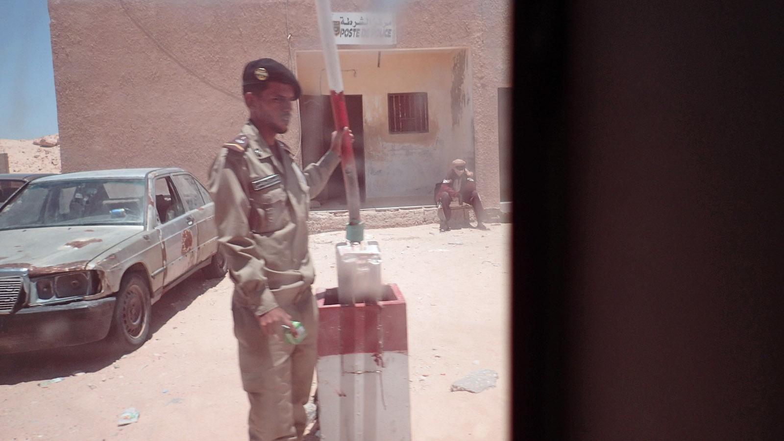 Checkpoint Nouadibou