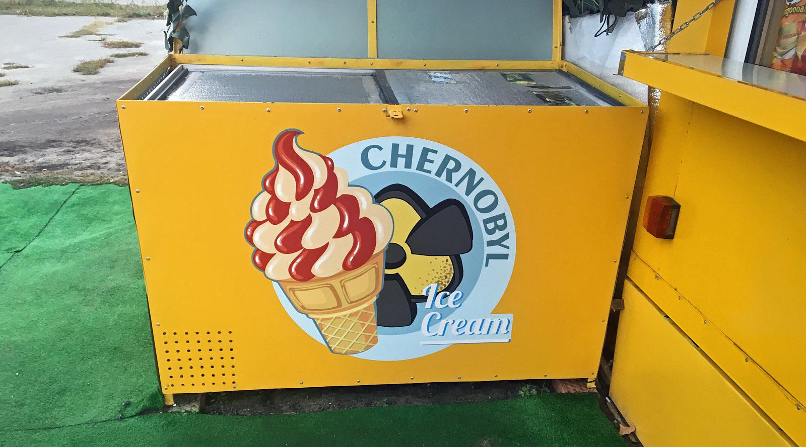 Tschernobyl Eisdiele