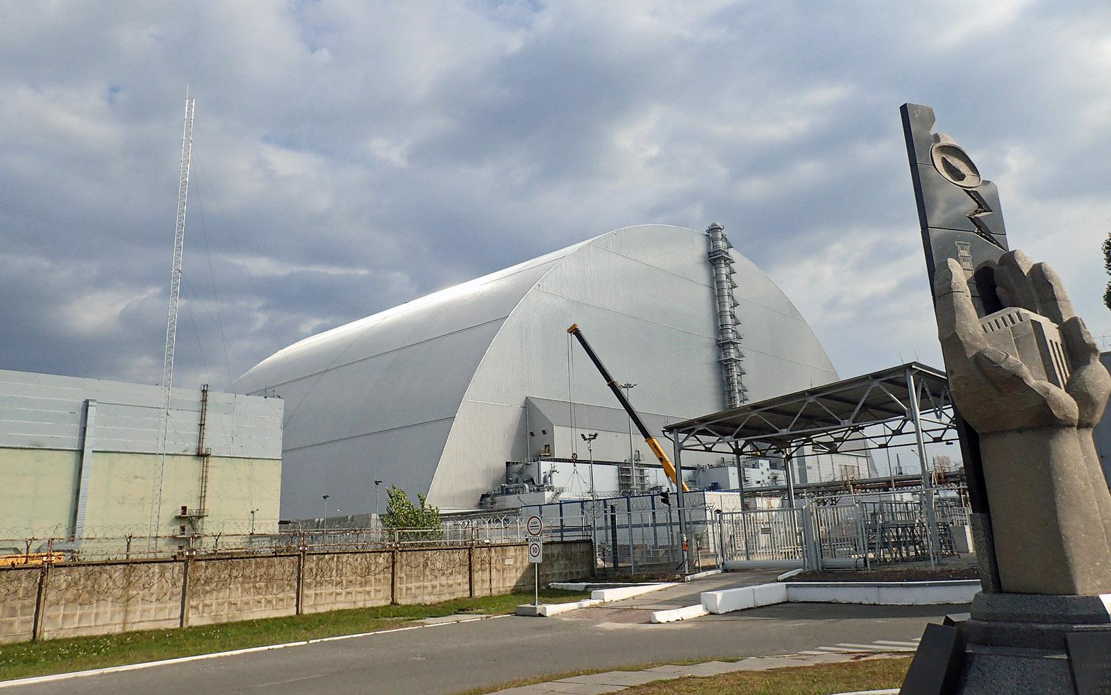 Tschernobyl Sarkophag